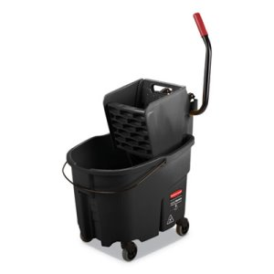 Rubbermaid Commercial WaveBrake 2.0 Bucket/Wringer Combos RCPFG1863896