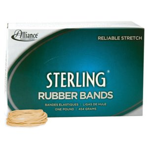 Ergonomically Correct Rubber Band, #16, 2-1/2 x 1/16, 2300 Bands (ALL24165)