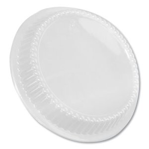"Durable Packaging Dome Lids for 8"" Round Containers, 500 Containers (DPKP280500)"