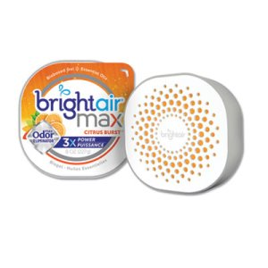 Bright Air Max Odor Eliminator Air Freshener, Citrus Burst, 8 oz (BRI900436EA)