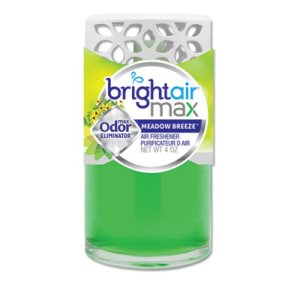 Bright Air Max Scented Oil Air Freshener, Meadow Breeze, 4 oz (BRI900441)