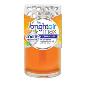 Bright Air Max Scented Oil Air Freshener, Citrus Burst, 4 oz (BRI900440)