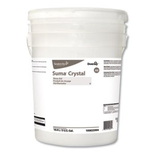 Diversey Suma Crystal A8, Characteristic Scent, 3.78 L Container (DVO100835994)