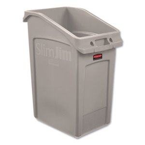 Rubbermaid Commercial 23 Gallon Slim Jim Under-Counter Container (RCP2026724)