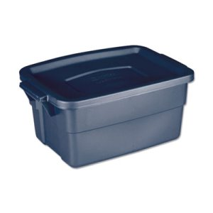 Rubbermaid Roughneck Storage Box, 10 5/8w x 15.687d x 7h, Each (UNXRMRT030003)