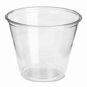 Dixie Clear Plastic PETE Cups, Cold, 9oz, Regular Size, 20 Pk of 50/CT (DXECP9A)
