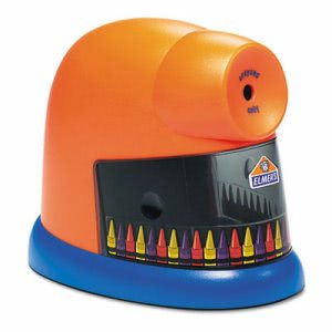 Elmer's CrayonPro Electric Crayon Sharpener w/ Replacable Blade (EPI1680)