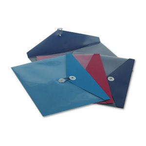 Standard Pocket Poly Booklet Envelope, 11 x 9 1/2, 4 per Pack (PFX90016)