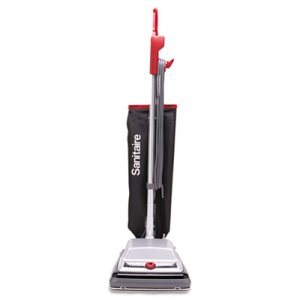 Sanitaire Heavy-Duty Upright Vacuum,18 lbs, Black (EURSC889A)