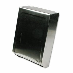 Ex-cell C-Fold or Multifold Towel Dispenser, Stainless Steel (EXC242SS)