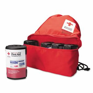 American Red Cross Emergency Smartpack for One Person, Nylon Carton (FAORC662)