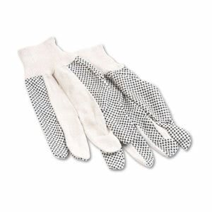 Boardwalk Men's PVC Dotted Canvas Clute Gloves, One Size (BWK8)
