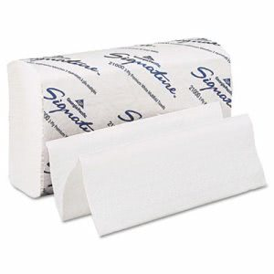 Signature White Multi-Fold Paper Towels, 2,000 Towels (GPC 210)