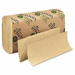 Envision Brown Multi-Fold Paper Towels, 4,000 Towels (GPC23304)