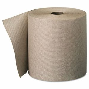Envision 800 ft Brown Hardwound Roll Towels, 6 Rolls (GPC 263-01)