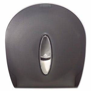 Georgia Pacific Jumbo Jr. Toilet Paper Dispenser, Translucent Smoke (GPC59009)