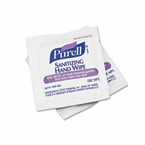 Purell Individually Wrapped Hand Sanitizer Wipes, 100 Wipes (GOJ902210BX)
