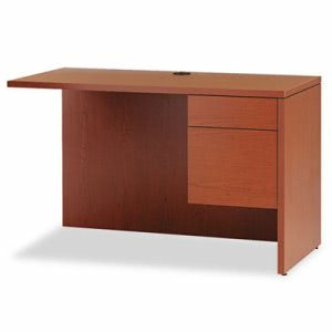 "Hon 10500 Series ""L"" Workstation Return, 3/4 Height Right Ped, 48w x 24d, Henna CY (HON10515RJJ)"