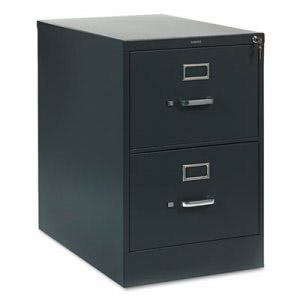 Hon 310 Series Two-Drawer, Full-Suspension File, Legal, Charcoal (HON312CPS)