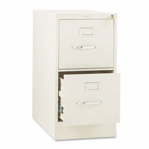 Hon 310 Series 2-Drawer, Full-Suspension File, Letter, 26-1/2d, Putty (HON312PL)