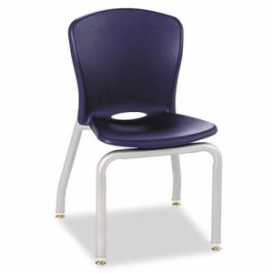 Hon Accomplish Chairs, 18 x 17-1/4 x 26-5/8, Navy, 4/Carton (HONCL414PCE91C)