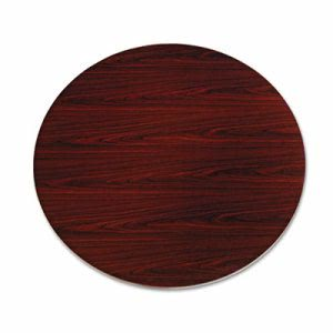 "Hon 10500 Series Round Table Top, 48"" Diameter, Mahogany (HONTLD48GNNN)"