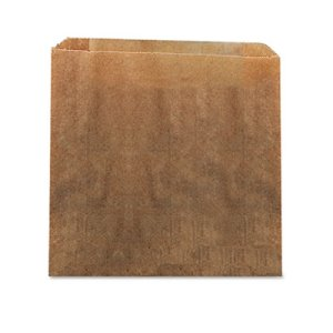 "Hospeco Waxed Kraft Liners, 10.5"" x 9.38"", Brown, 250/Carton (HOS6141)"