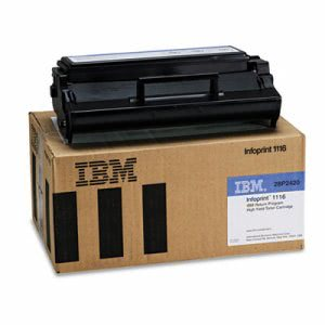 Infoprint Solutions Company High-Yield Toner, 6000 Yield, Black (IFP28P2420)