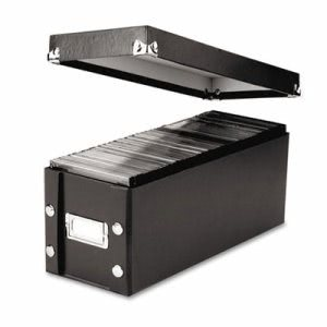 Snap-n-store CD Storage Box, Holds 60 Slim/30 Std. Cases (IDESNS01521)
