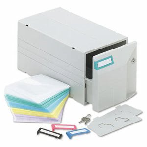 Innovera CD/DVD Storage Drawer, Holds 150 Disks (IVR39501)