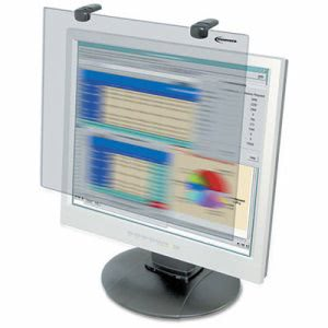 "Innovera Antiglare Blur Privacy Monitor Filter, Fits 15"" LCD Monitors (IVR46411)"