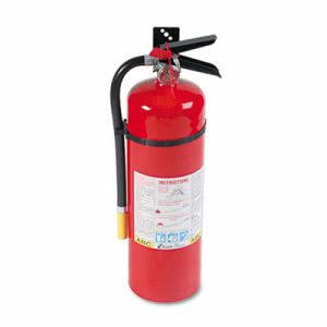 Kidde ProLine Pro 10 MP Fire Extinguisher, 4-A,60-B:C, 195psi, 19.52h x 5.21dia, 10lb (KID466204)