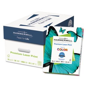 Hammermill Laser Office Paper, 98 Brightness, 500 Sheets (HAM104646)