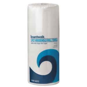Boardwalk Kitchen 2-Ply Paper Towel Rolls, 30 Rolls (BWK6272)