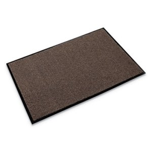 Crown Rely-On Olefin Indoor Wiper Mat, 48 x 72, Walnut (CWNGS0046WA)