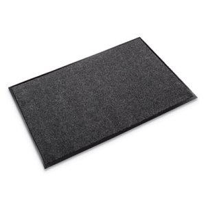 "Crown EcoStep Indoor Wiper Mat, 36""x120"", Charcoal (CWNET0310CH)"