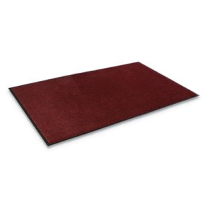 "Crown Dust-Star Microfiber Wiper Mat, 36""x60"", Red (CWNDS0035RD)"