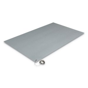 "Crown Antistatic Comfort-King Mat, Sponge, 24""x60"", Gray (CWNZC0025GY)"
