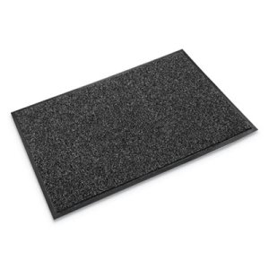 Crown Cross-Over Indoor/Outdoor Wiper/Scraper Mat, 48 x 72, Gray (CWNCS0046GY)
