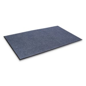 "Crown EcoStep Wiper Mat, 36""x60"", Midnight Blue (CWNET0035MB)"