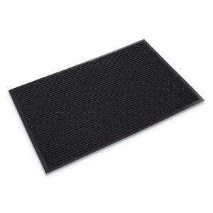 "Crown Needle-Rib Wiper/Scraper Mat, 36""x48"", Charcoal (CWNNR0034CH)"