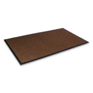 "Crown Super-Soaker Wiper Mat w/Gripper Bottom, 34""x58"", Brown (CWNSSR035DB)"