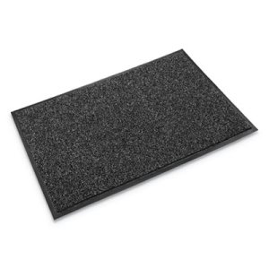 Crown Cross-Over Indoor/Outdoor Wiper/Scraper Mat, 36 x 60, Gray (CWNCS0035GY)