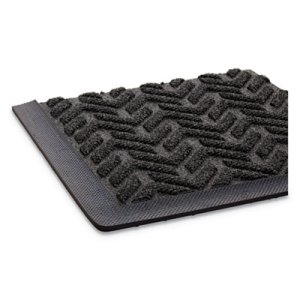 Crown Ribbed Vinyl Anti-Fatigue Mat, 24 x 36, Black (CWNFL2436BK)