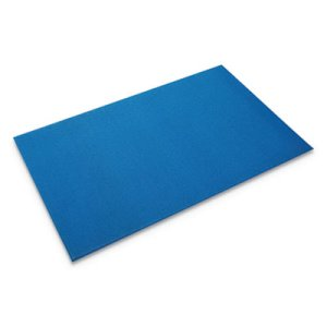 "Crown Comfort King Anti-Fatigue Mat, Zedlan, 24""x36"", Royal Blue (CWNCK0023BL)"