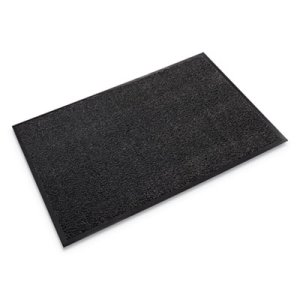 "Crown Dust-Star Microfiber Wiper Mat, 48""x72"", Charcoal (CWNDS0046CH)"