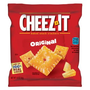 Cheez-It Crackers Single-Serving Snack Pack, 8 Packs (KEB12233)