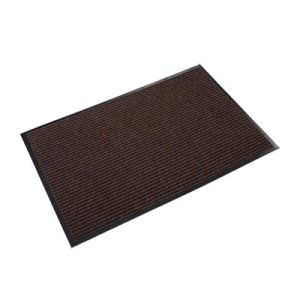 Crown Needle Rib Wipe & Scrape Mat, Polypropylene, 48 x 72, Brown (CWNNR0046BR)
