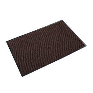 Crown Needle Rib Wipe & Scrape Mat, Polypropylene, 36 x 60, Brown (CWNNR0035BR)