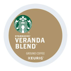 Starbucks Veranda Blend, Light Roast, 24 K-Cups (SBK011067986)